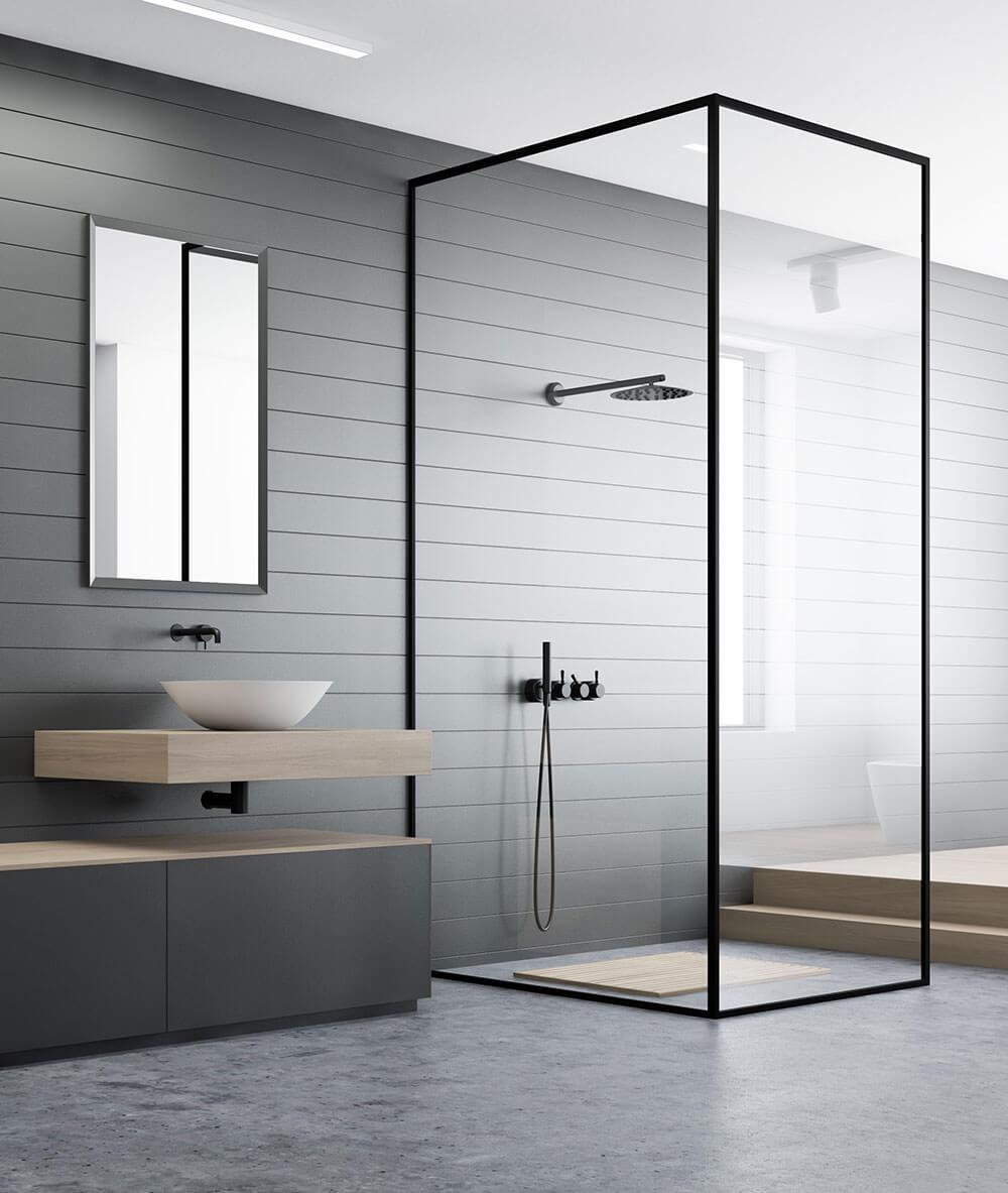 Elwood shower renovation