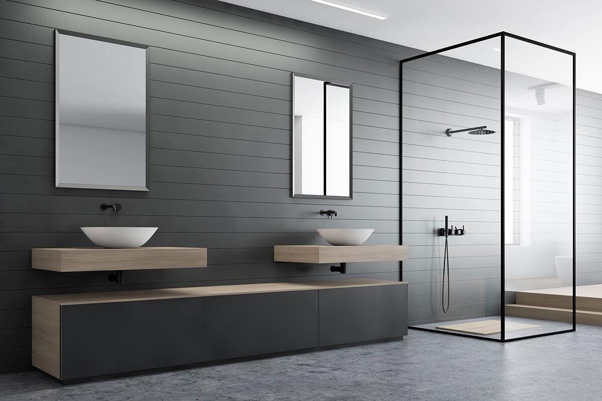 Elwood Modern design bathroom